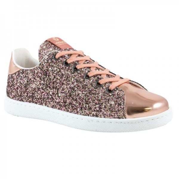 Zapatilla glitter